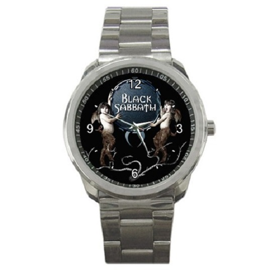 Black Sabbath Rock Band Sport Metal Watch Gift mode 17656715