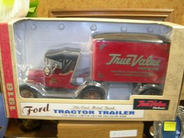 Ertl 1918 Ford Die Cast Tractor Trailer 1/25 Scale Bank by Ertl  - $34.00