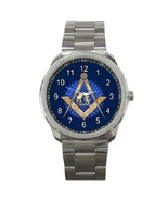 Mason Masonic Freemason Sport Metal Watch Gift model 32049621 - $14.99