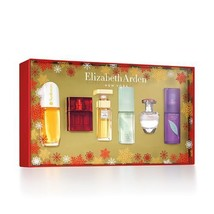 Elizabeth Arden 6 Piece Gift Set Sunflowers Red Door 5th Avenue Green Tea Pretty - $39.99