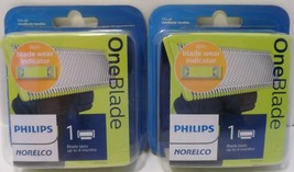 Lot of 2 Philips Norelco OneBlade Replacement Blades 1 Pack QP210/80 - New - $29.01