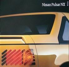 1990 Nissan PULSAR NX sales brochure catalog US 90 XE T-Top - $9.00