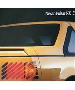 1990 Nissan PULSAR NX sales brochure catalog US 90 XE T-Top - $10.00