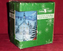 Christams Holiday Magic Xmas Silent Night Coffee Tea 12 Oz Mug - $15.00