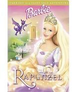 Barbie as Rapunzel DVD - $3.95