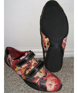 TRENDY PAZZO ITALIAN LEATHER MAGAZINE COVER COLORFUL SHOES-1 - $17.00
