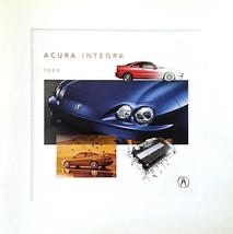 1999 Acura INTEGRA sales brochure catalog US 99 Honda LS GS-R - $9.00