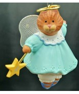 1990 Angel Kitty Hallmark Keepsake Ornament Sculpted by Michele Pyda-Sevcik - $7.91