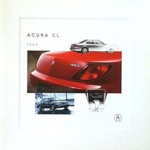1999 Acura CL sales brochure catalog US 99 Honda 2.3 3.0 - $9.00