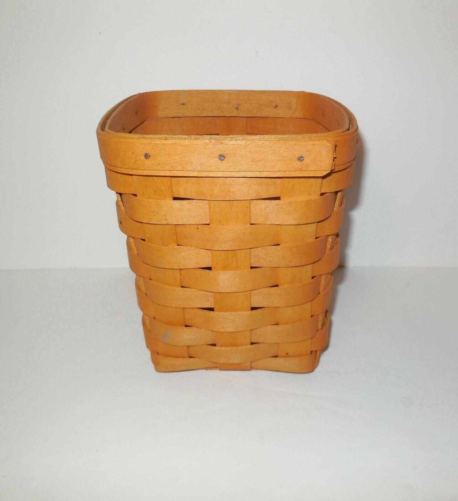 "Longaberger 6"" Spoon Basket 1999"