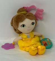 Disney Baby Plush Belle Soft Light and Sound Beauty and the Beast Doll T... - $13.85