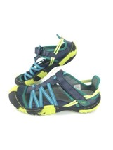 JAMBU Jetty Encore Green Blue Velcro Water Hiking Trail Sandal Shoes 7 - $38.41