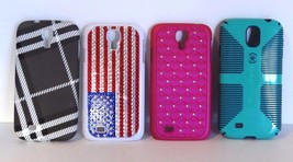 Samsung Galaxy S4 Cases Lot Of 4 - $8.55