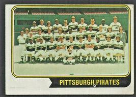Pittsburgh Pirates Team Card 1974 Topps Baseball Card # 626 - $0.65