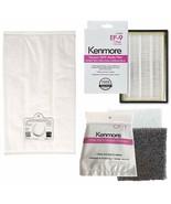 6 Kenmore Q/C  Vacuum Bags + 1 EF 9 (53296) + 1 CF 1 (81002) 5055 50557 ... - $34.95