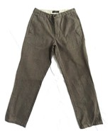 Banana Republic mens pants size 33R Brown casual dress  - $14.95