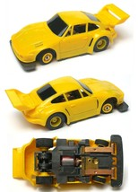 1992 Tyco Tcr Wide Pan Porsche Turbo Whale Tail Slot Less Car Unused Sharp! A++ - $22.76