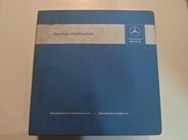 1978 1985 Mercedes Benz Model 123 126 201 107 Service Information Manual... - $296.99
