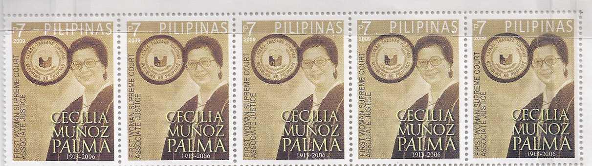 Stamps  cecilia palma
