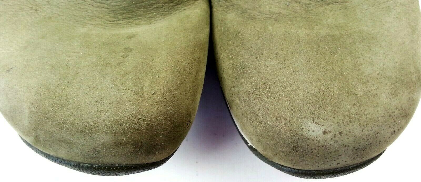 Merrell Womens Primo Paisley Clogs 7.5 US Mules Slip On Dark Olive Air Cushion