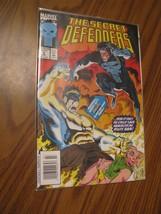 THE SECRET DEFENDERS #5 MARVEL COMICS,1993 Bagged - C104 - $1.99