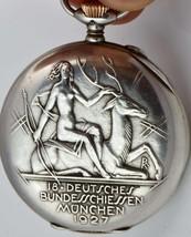 MUSEUM IWC Schaffhausen CHRONOMETER Silver Marksman Shooting Prize watch... - $7,000.00