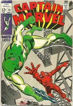 Captain Marvel #13 Friedrick/Springer 1969 Marvel Comics Silver Age 1st ... - $26.73