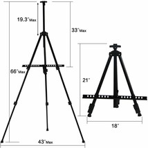 """T-Sign 66"""" Reinforced Artist Easel Stand image 2"""