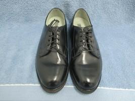 ADDISON SHOE CO MEN'S WORK SHOES SIZE 7E BLACK LEATHER/AVONITE SOLES EUC... - $37.76