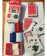 Bicycle Poker Chips, 2 Decks of Cards - Very Good Condition - $9.90