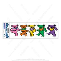 Grateful Dead Dancing Bears INSIDE  Window Sticker Deadhead  Car Decal - $5.49