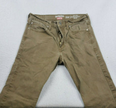 Levis Denizen 232 Slim Straight Fit Brown 32x34 Men's Jeans - $19.77