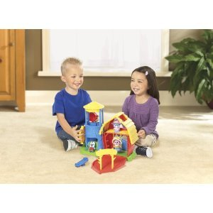 Little Tikes Apple Grove Pals Farm Playset NEW + Book Corral Teeter Totter NEW