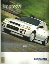 1999 Subaru IMPREZA sales brochure catalog 99 US L 2.5 RS - $8.00