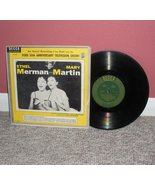 "Ethel Merman Mary Martin 1953 10"" LP Record  - $2.99"