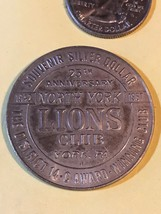 1967 York, PA 25th Anniversary Lions Club State Convention Silver Dollar... - $5.89