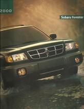 2000 Subaru FORESTER sales brochure catalog 00 US L S - $8.00