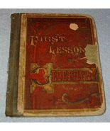 First Lessons in Geography Primer Children's Antique School Text  - $19.95