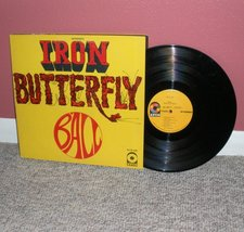 Iron Butterfly Ball LP Record - $2.99