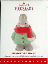 2015 New in Box - Hallmark Keepsake Christmas Ornament - Bundled-Up Bunny - $6.92