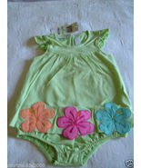 First Impressions Baby Girl Floral Sundress, Pear Color, Sz. 6-9 Months.NWT - $9.99