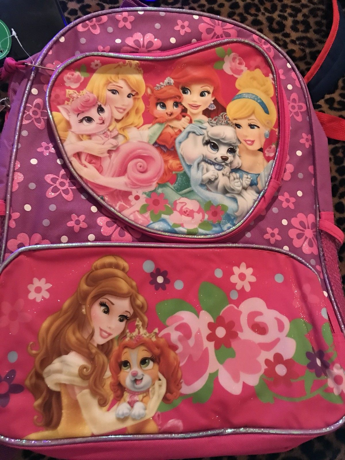 Aurora Pink Shoulder Bag Disney Princess Palace Pets