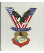 """OPERATION DESERT STORM VICTORY MILITARY 8"""" EMBROIDERED JACKET PATCH - $18.99"""