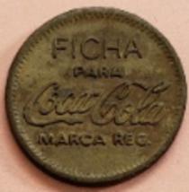 FICHA para Coca Cola marca Reg Unicamente Para Vendedoras Automaticas  - $5.95