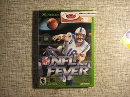 NFL Fever 2002 Xbox 2001 Football Sports Game - $10.13