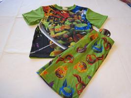 Boys youth nickelodeon Teenage Mutant Turtl 2 pc sleepwear set PJ L shor... - $35.64