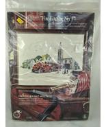 Paragon Needlecraft Fire Engine No 7 Crewel Stitchery Kit 0435 - $35.95