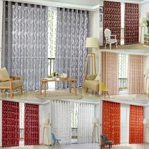 VKTECH Floral Half Shading Cirrus Window Curtain Ceiling - $17.95
