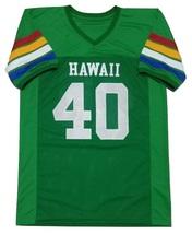 Custom HAWAII Rainbow Football Jersey Any Size Gift - $24.99