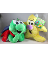 Christian the Turtle & Jacob the Starfish Plush God's Gift Adventures of... - $27.65